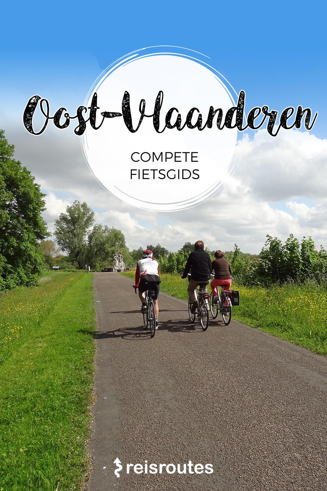 Fietsgids Oost-Vlaanderen